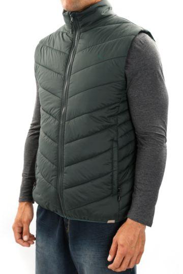 Technical Sleeveless Puffer Jacket