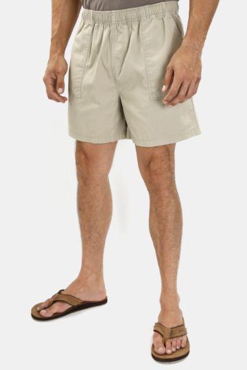 Cotton Mid-thigh Shorts