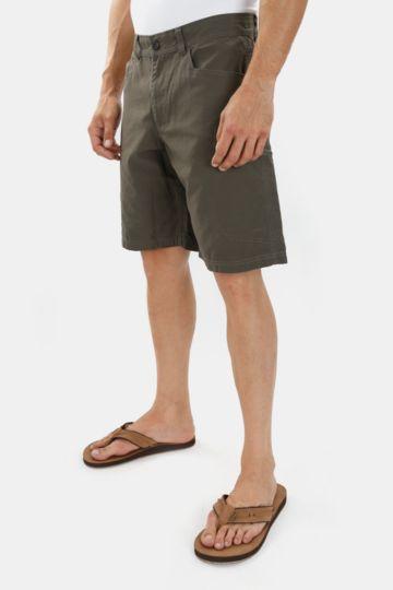 Kneel-length Cotton Cargo Shorts