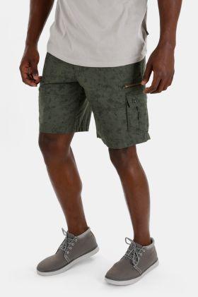 Camo Cotton Cargo Shorts