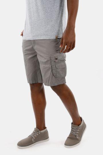 Cotton Knee-length Cargo Shorts