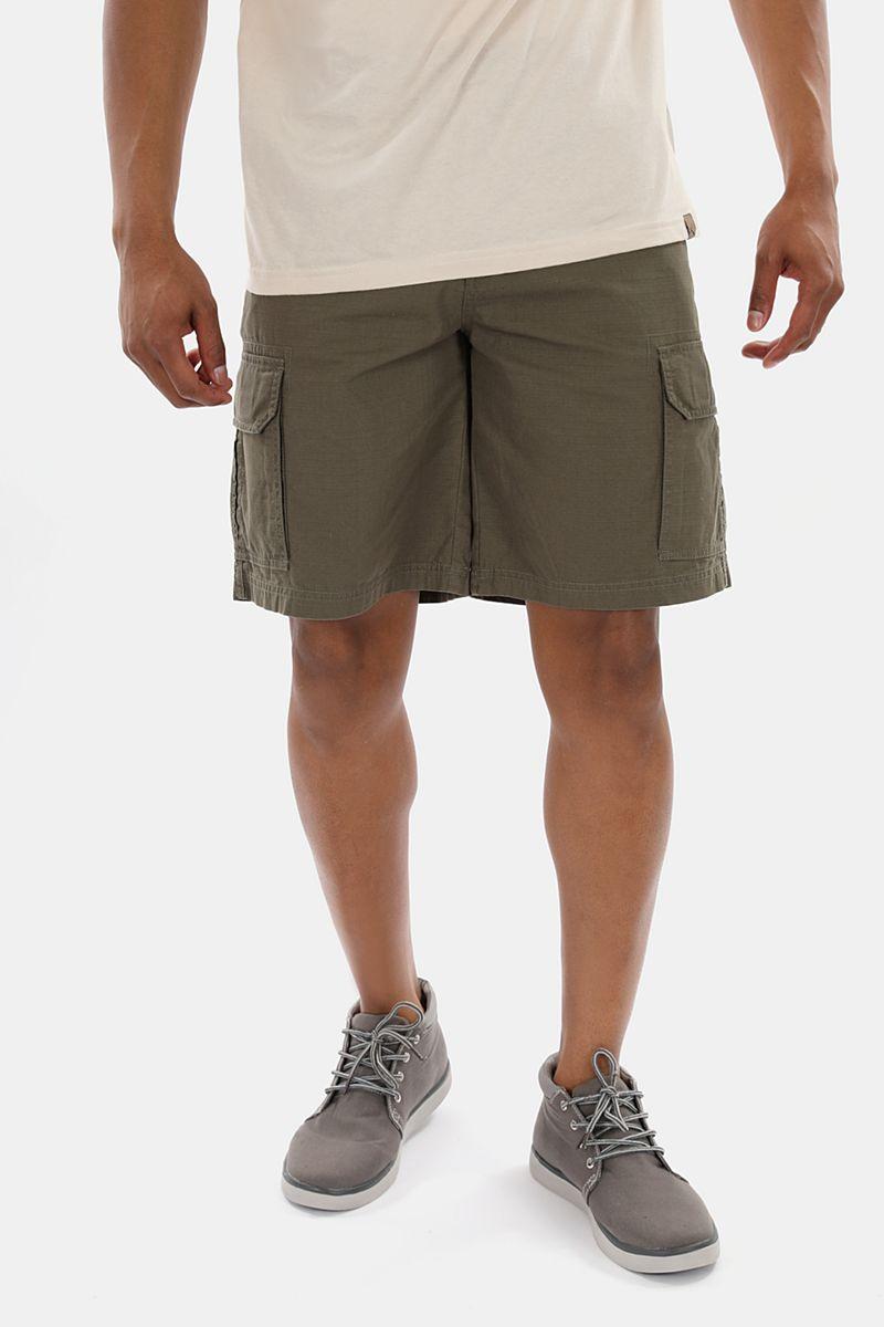 97cf1ed25e Ripstop Knee-length Cotton Cargo Shorts - Outdoor Apparel - Mens