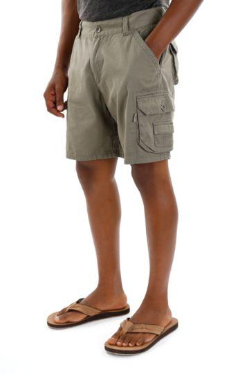 Mid-thigh Cargo Shorts