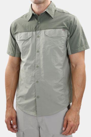 Two-tone Technical Shirt