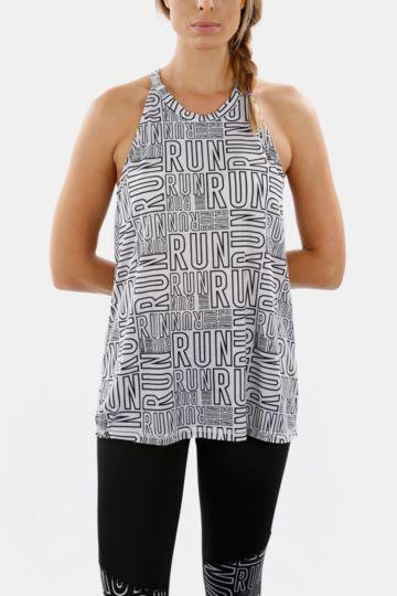 Printed Racerback Vest