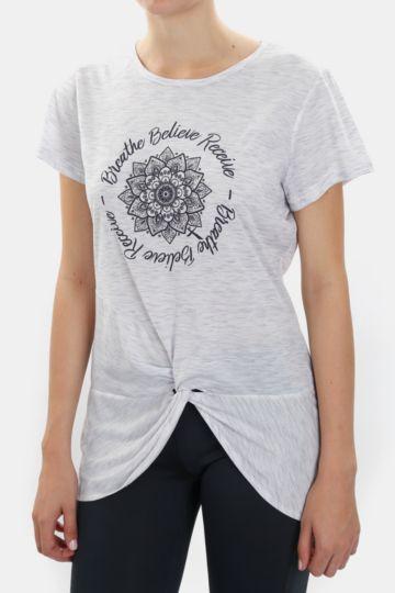 Statement Polycotton T-shirt