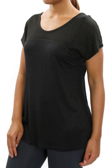 Criss-cross Detail T-shirt