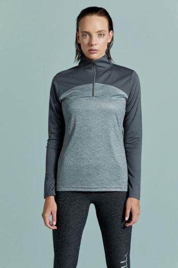 1/4 Zip Turtleneck Pullover