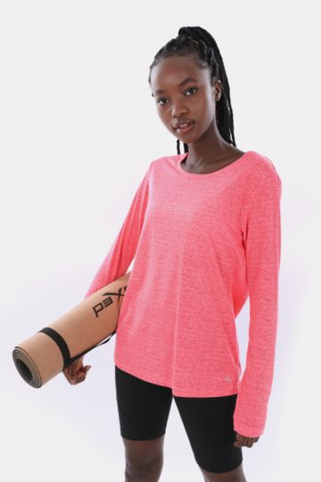 31475b3f422c Long Sleeve Tops - Fitness Apparel - Ladies