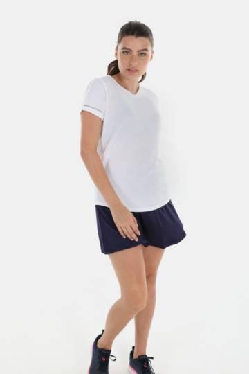 Reflective V-neck Dri-sport T-shirt