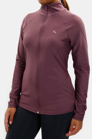 Turtleneck Zip-through Dri-sport Jacket