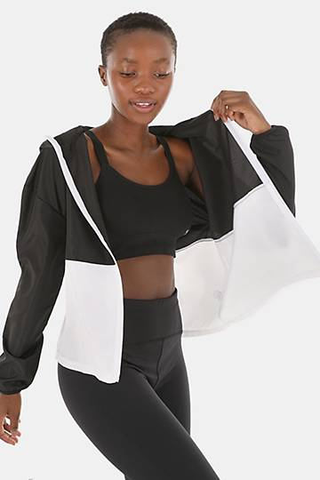 Zip-through Shell Active Jacket