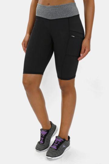 Knee-length Colourblock Leggings