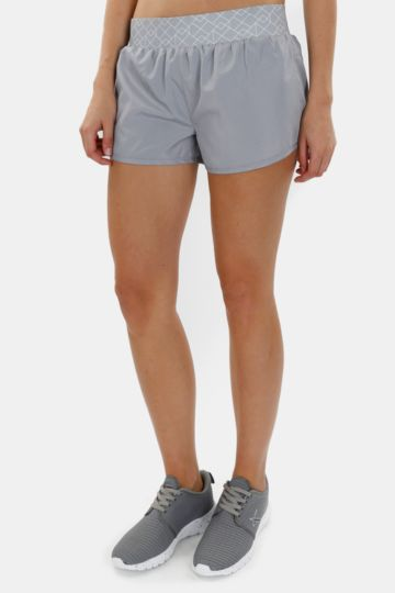 Printed Straight Leg Shorts