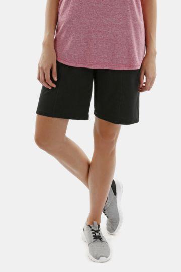Fleece Knee-length Shorts