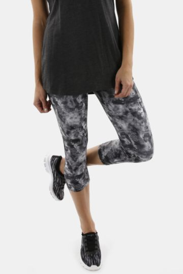 Printed Crop Leggings