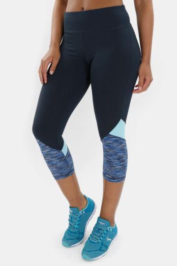 Colourblock Cropped Leggings