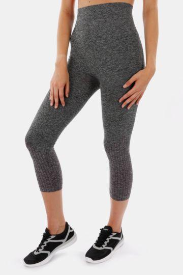 Seamless Knit Jacquard Leggings