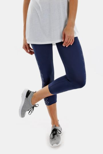 Print Cropped Leggings