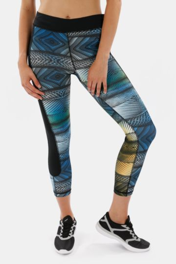 Printed Cropped Leggings