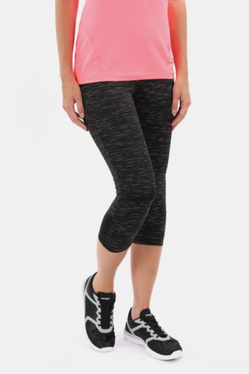 Cropped High-waisted Leggings