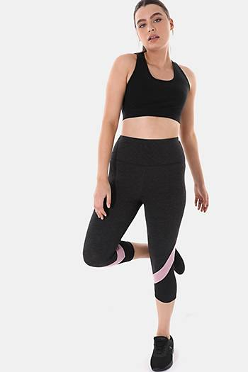 Cotton-rich Cropped Leggings
