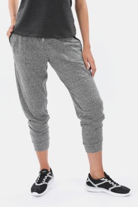 Cuffed Polycotton Trackpants