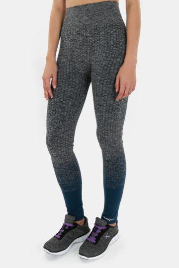 Seamless Knit Full-length Leggings