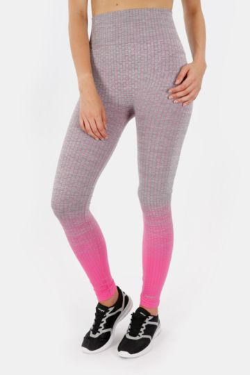 Seamless Knit Full-length Leggings