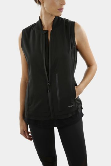 Zip-through Gilet
