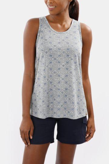 Printed Polycotton Vest
