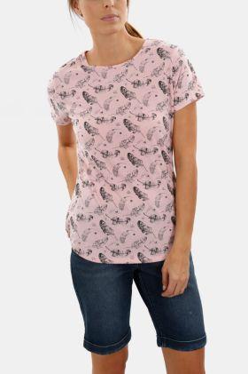 Polycotton Print T-shirt