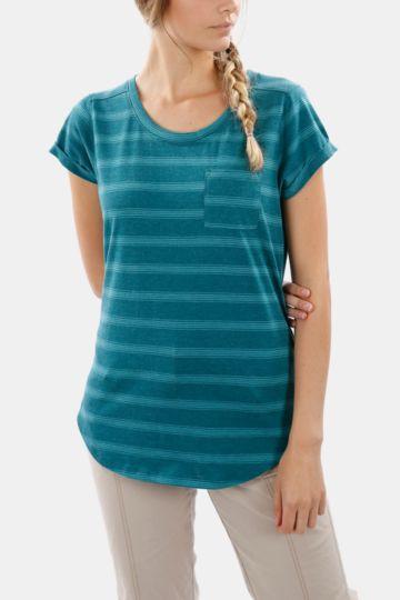 Striped Polycotton T-shirt