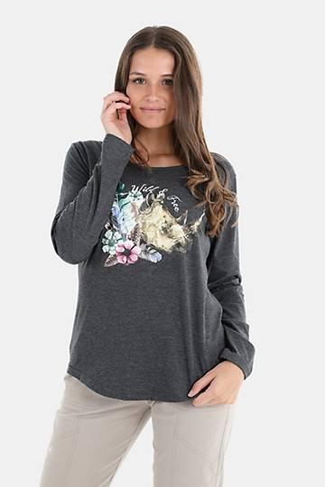 Long Sleeve Polycotton T-shirt