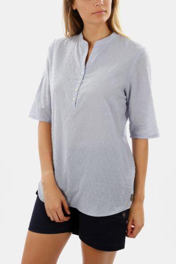 Short Sleeve Henley Top