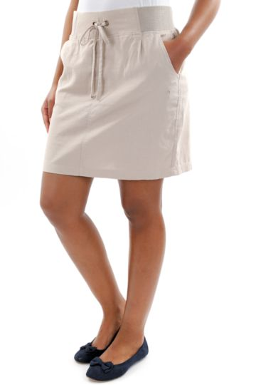 Cotton Utility Skirt