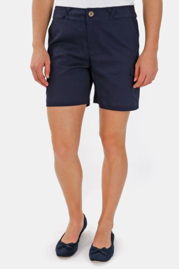 Mid-thigh Straight Leg Shorts