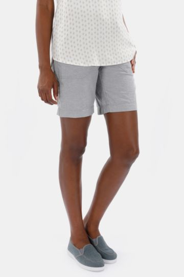 Polycotton Bermuda Shorts