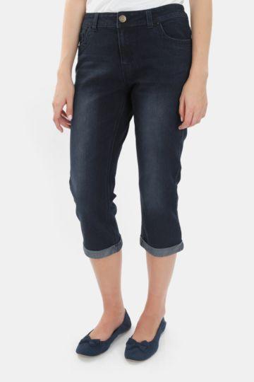 Cropped Denim Jeans