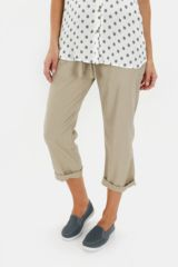 Linen Cropped Bottoms