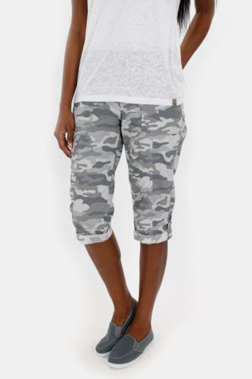 Camo Cropped Bottoms