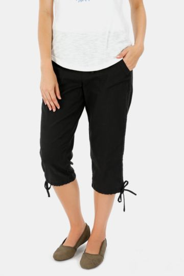 Lined Cropped Pants