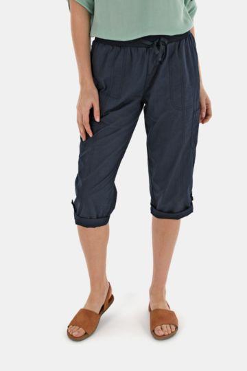Cropped Straight Leg Bottoms