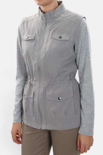 Polycotton Sleeveless Jacket
