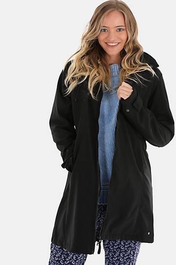 Zip-through Technical Fleece Hooded Jacket