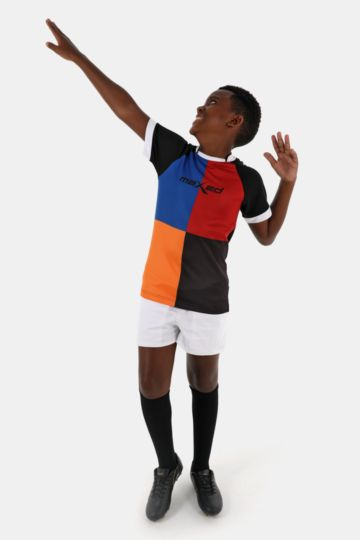 Pocketed Cotton Rugby Shorts
