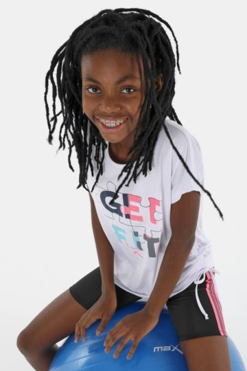 e5e0f21f Tees - Girls Fitness Apparel - Kids