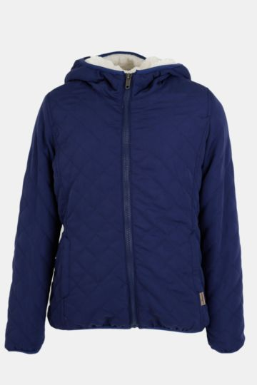 Zip-through Puffer