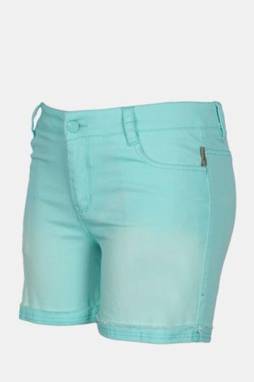 Mid-thigh Cotton Shorts