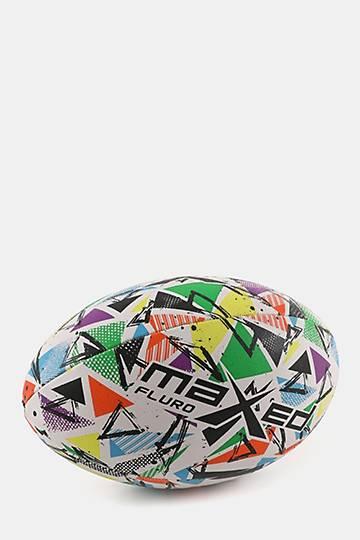 Fluro Fullsize Rugby Ball